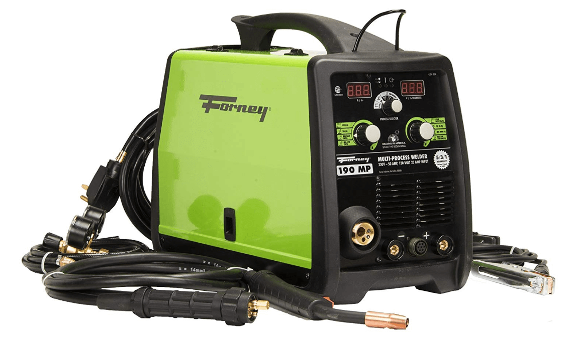Forney 324 MIG Stick TIG 3-in-one Review