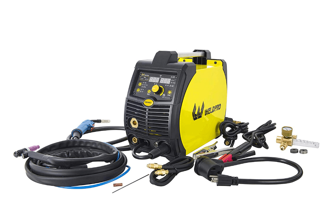 Weldpro 200 Amp Inverter Multi-Process Welder under 1000$