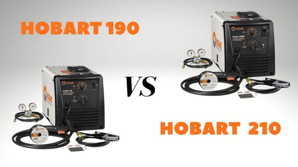 Hobart 190 vs 210