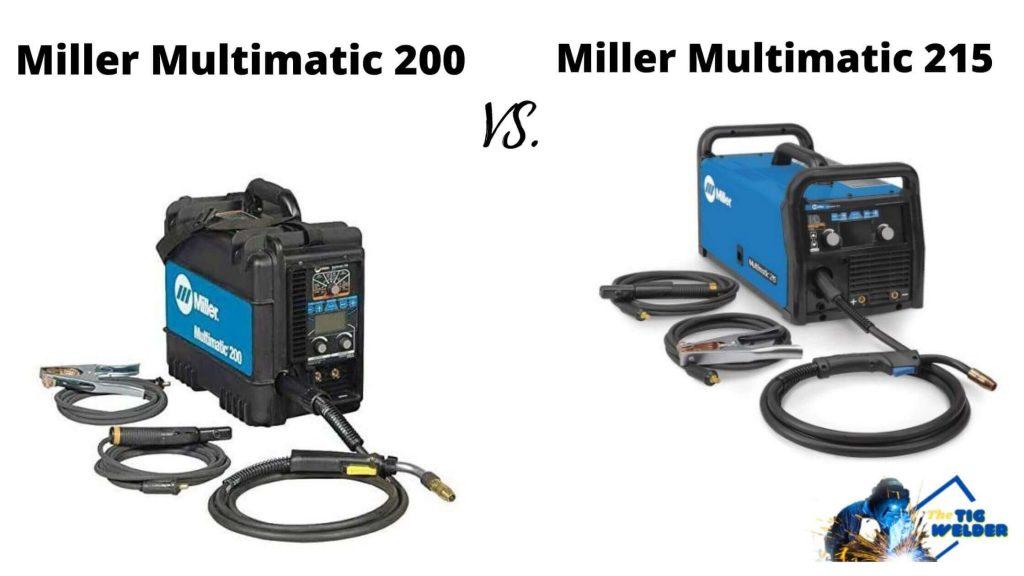Miller Multimatic 200 vs 215